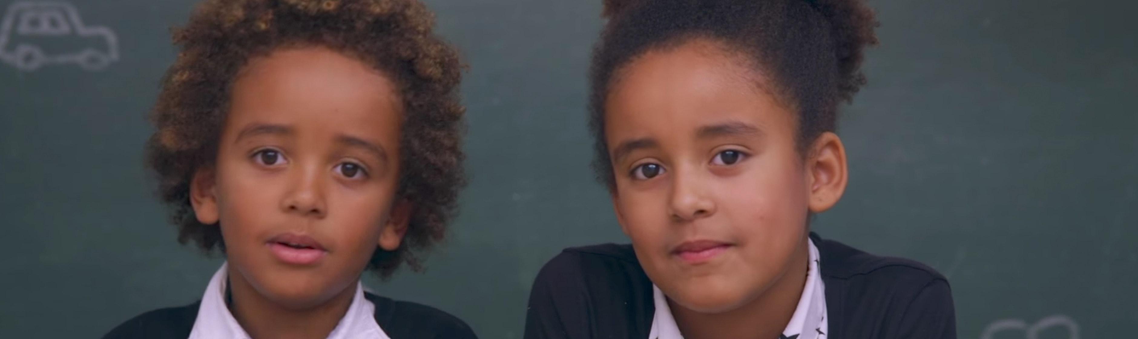 Kinderen praten over hypotheken