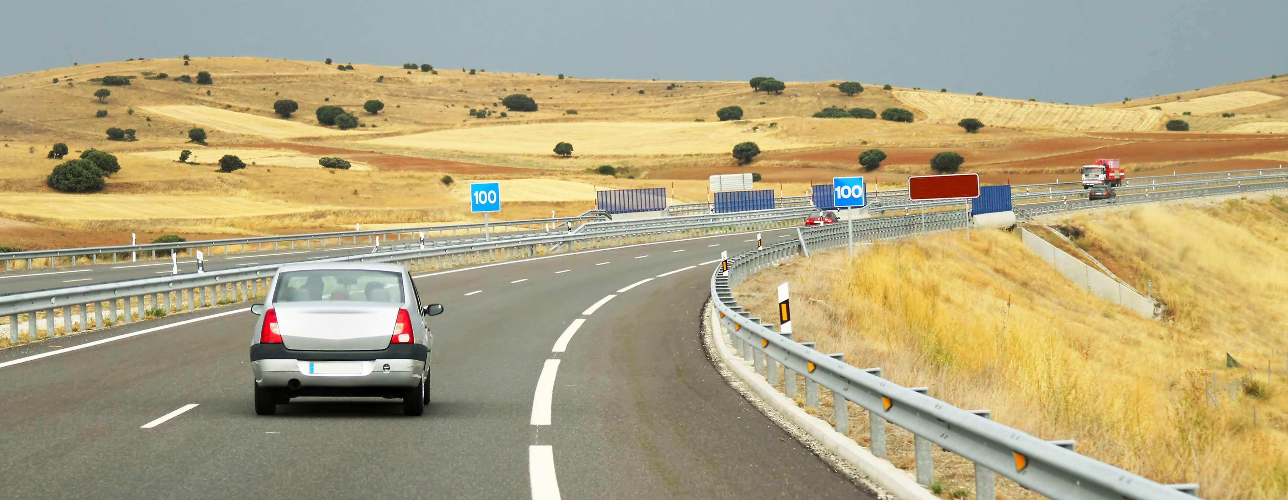 Met de auto naar Spanje