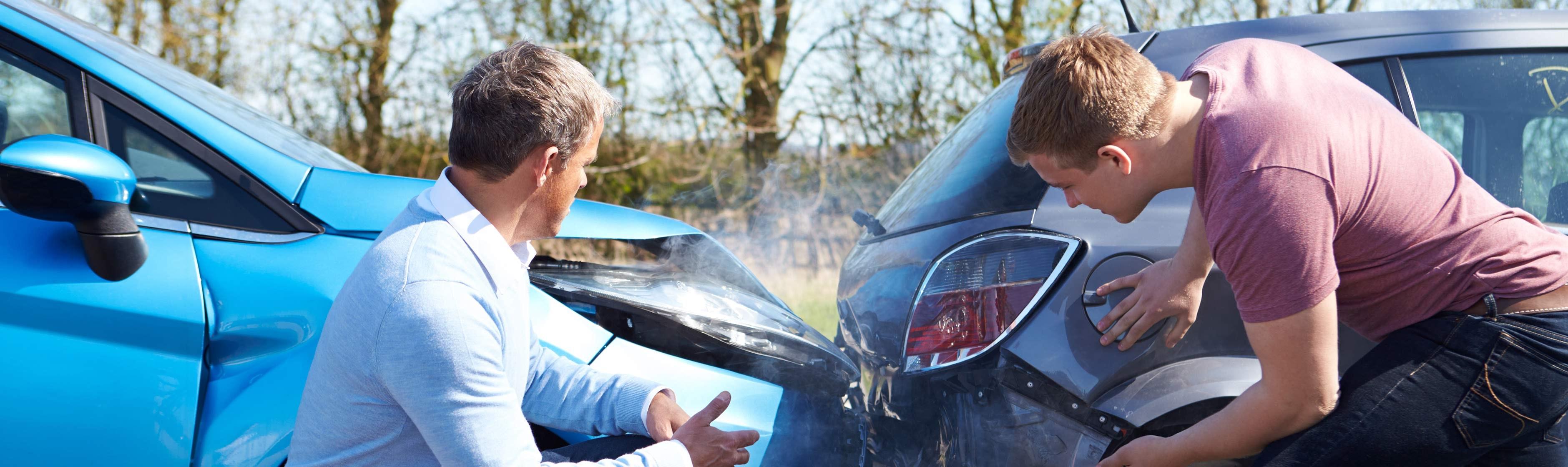 Schade aan de auto