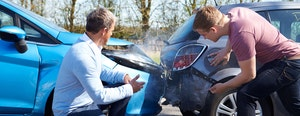 meeste schade in het verkeer