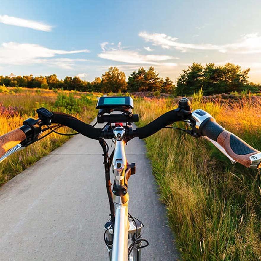 Stuur van een fiets