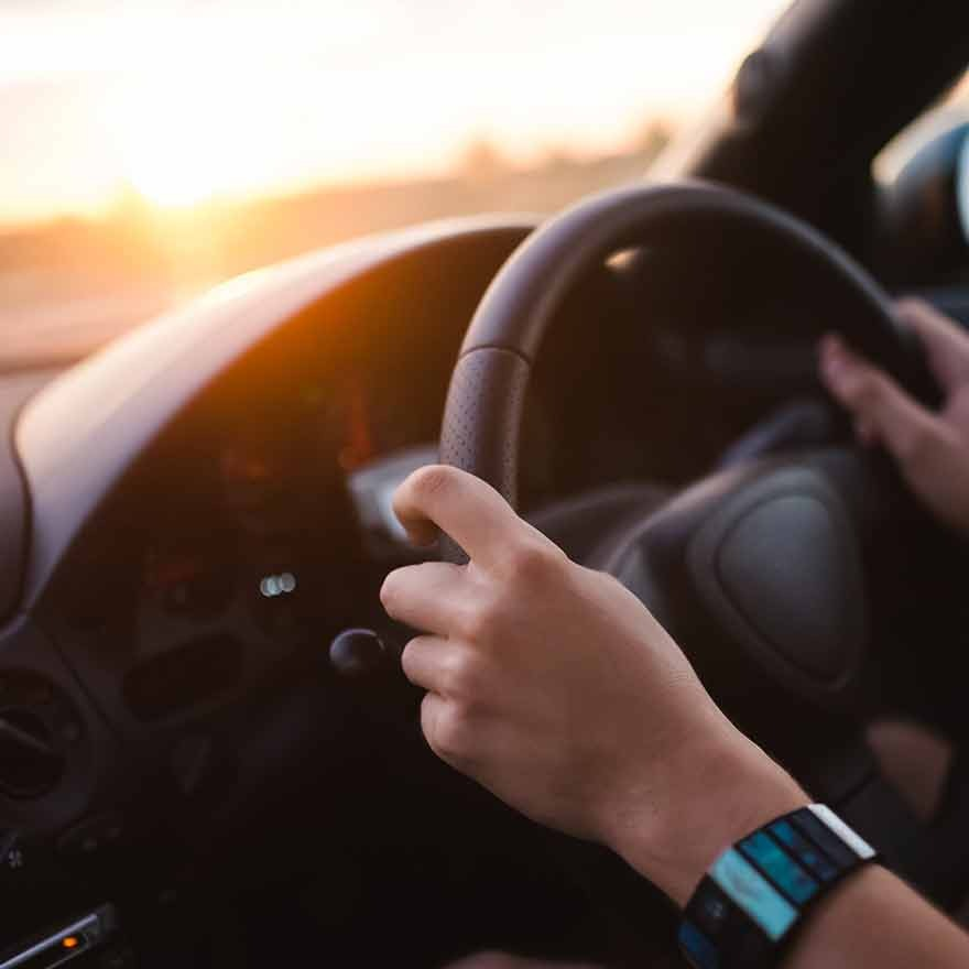 Stuur en dashboard
