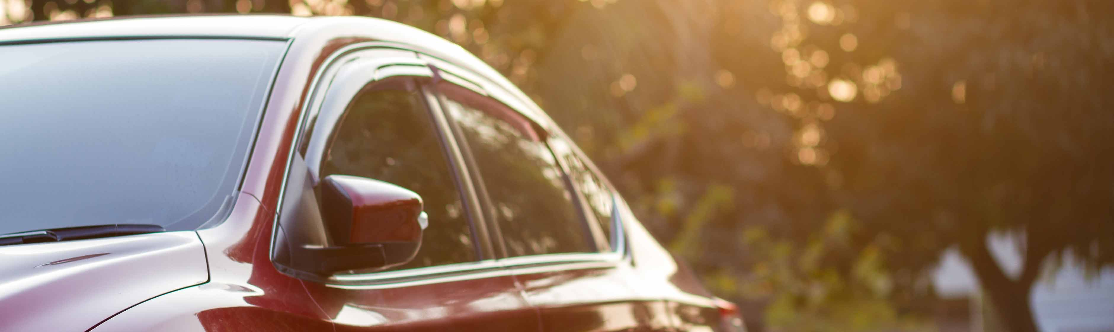 Felgekleurde auto
