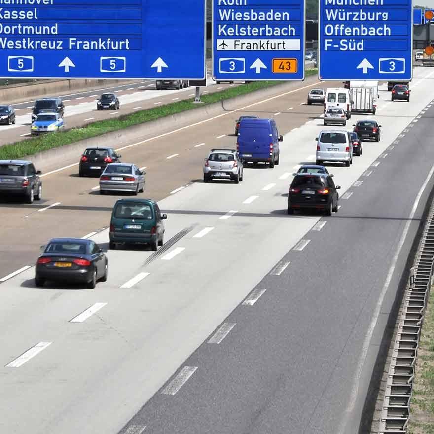 Tol op Duitse snelwegen