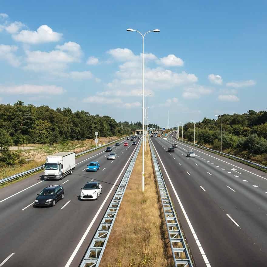 Snelheid op Europese snelwegen