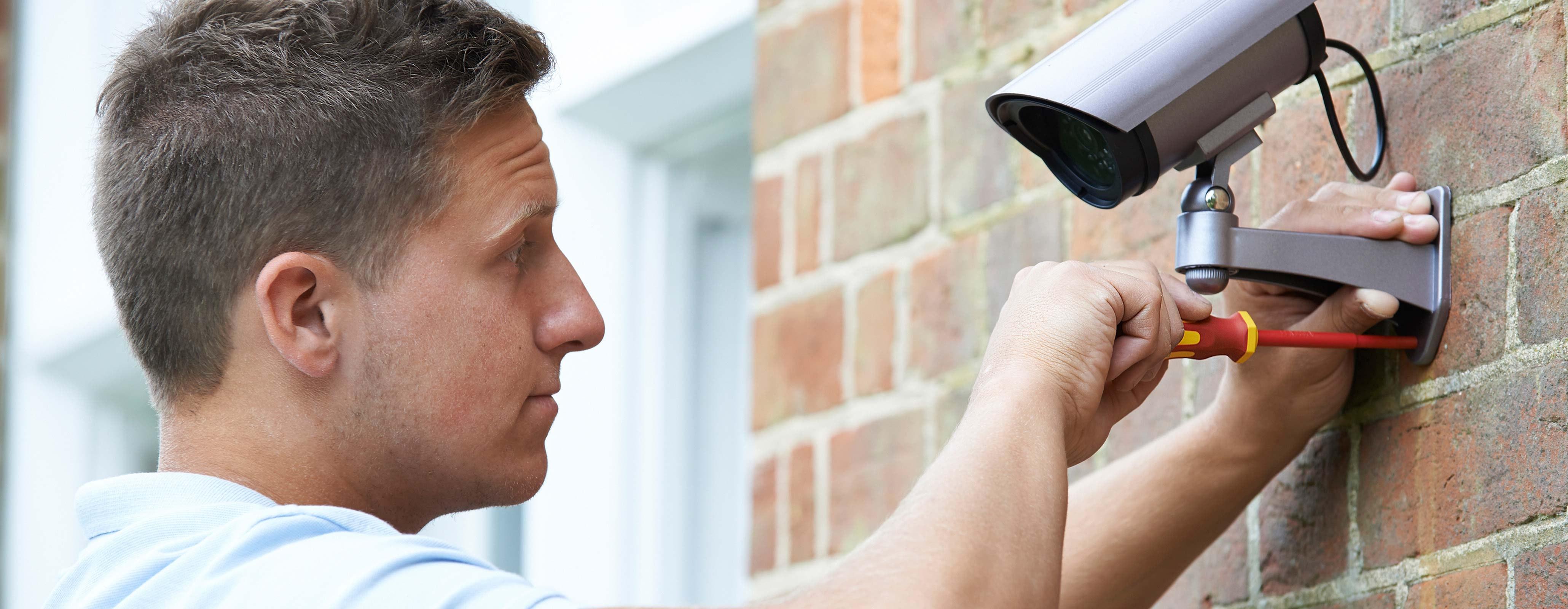 Installatie beveiligingscamera