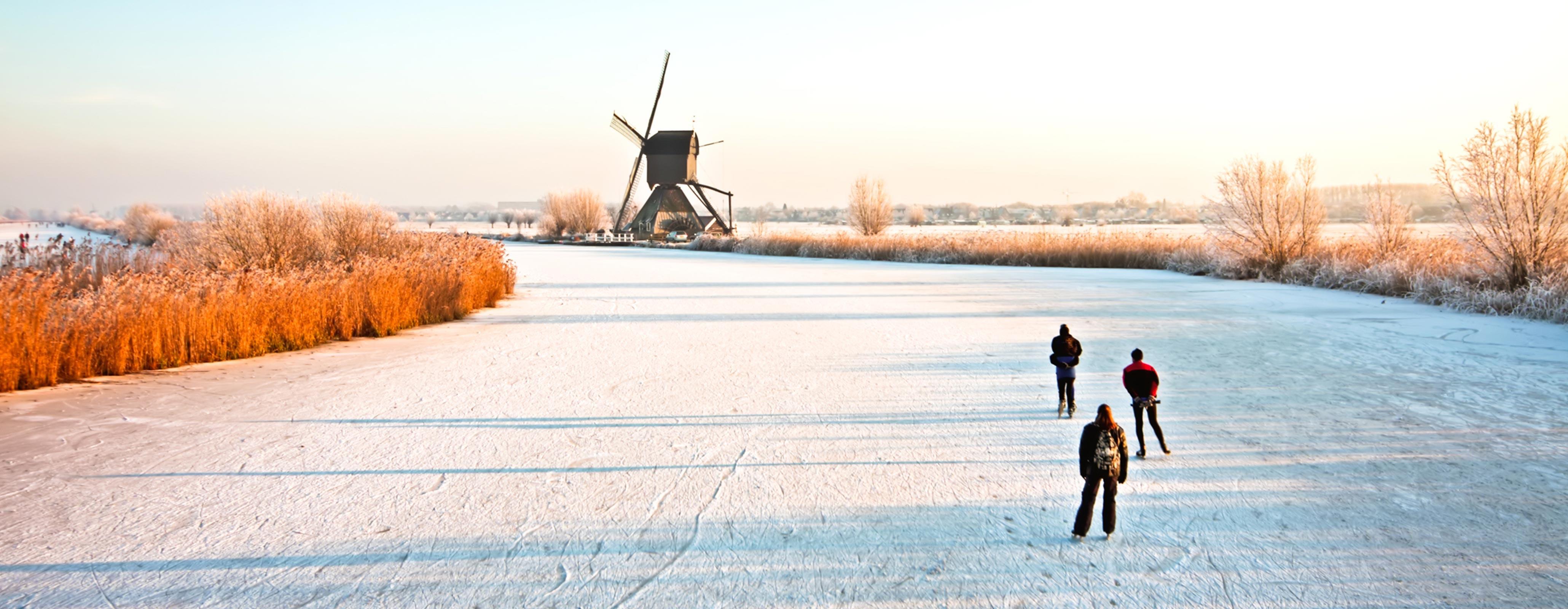 Schaatsende Nederlanders