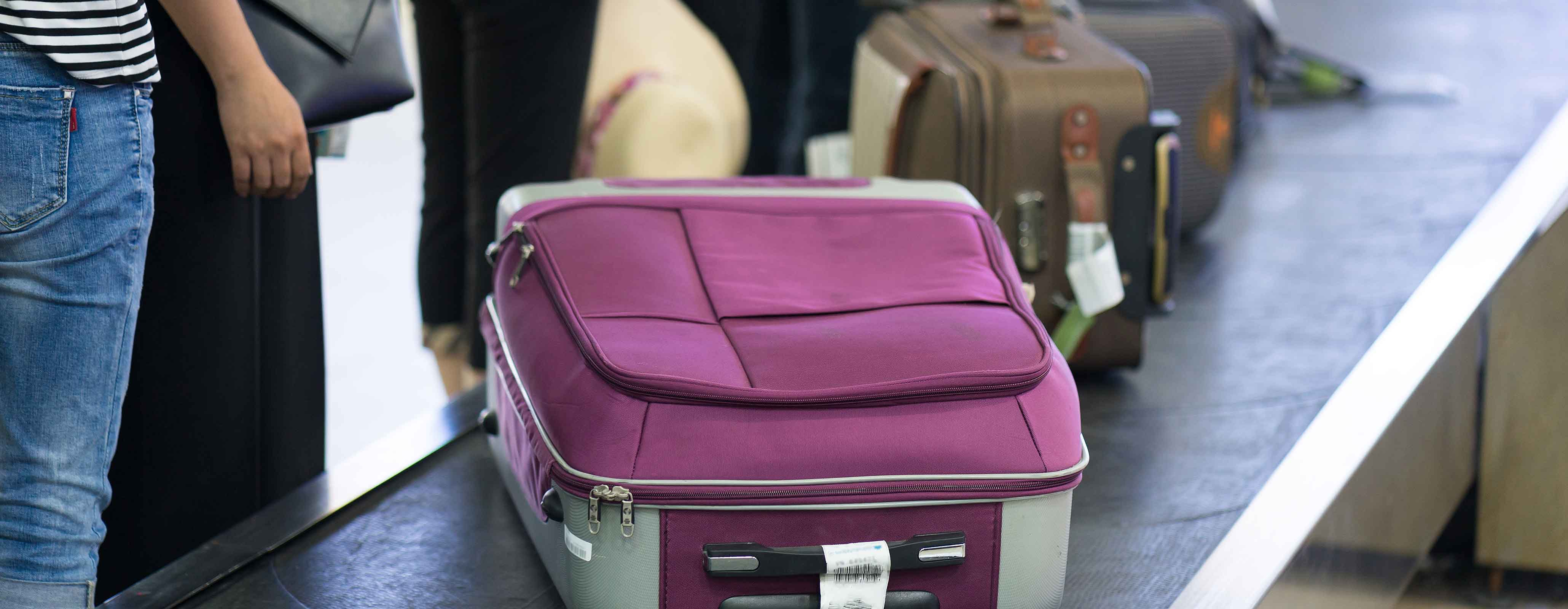 Koffer op babageband