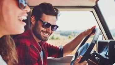 Vakantie jeep