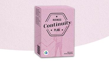 Business continuity plan Ondernemerswinkel