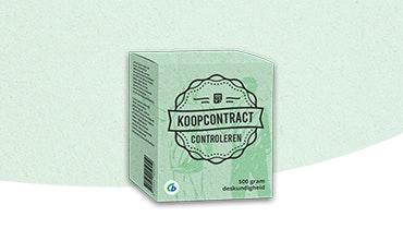 Koopcontract controleren Ondernemerswinkel